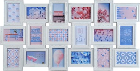Henzo Trendy Gallery 18 collage photo frame