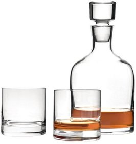 Leonardo Ambrogio whisky set - 3 piece