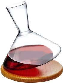 Nude Glass Balance wine carafe