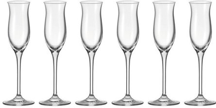 Leonardo Cheers grappa glass - set of 6