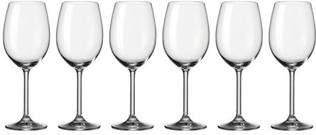 Verre à vin rouge Leonardo Daily - lot de 6