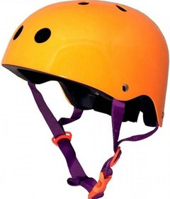 Kiddimoto Neon Orange kinderhelm