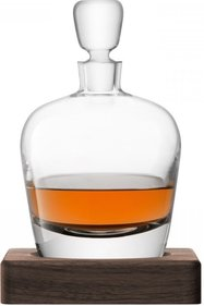 LSA Arran whiskey carafe with coaster
