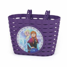 Widek Frozen bicycle basket purple