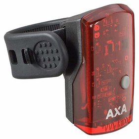 REAR LIGHT AXA GREENLINE USB 1 LED BL