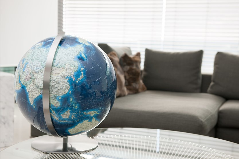 Columbus Duo Azzurro Mini globe