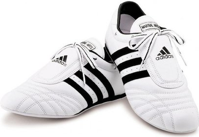 Adidas SM-II taekwondo shoes white