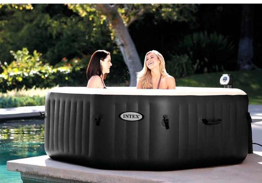 Intex PureSpa Jet & Bubble aufblasbare Jacuzzi XL