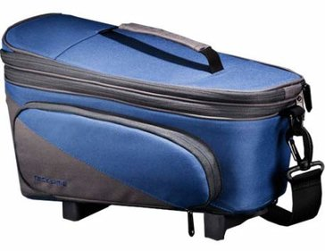 Racktime Talis Plus single bicycle bag blue