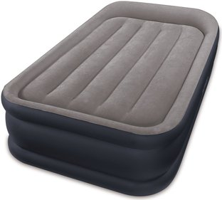 Intex Deluxe Pillow Rest Raised Bed Twin Luftmadras
