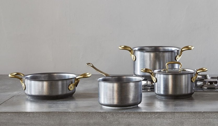Sambonet 1965 Vintage pan set - 4 pieces