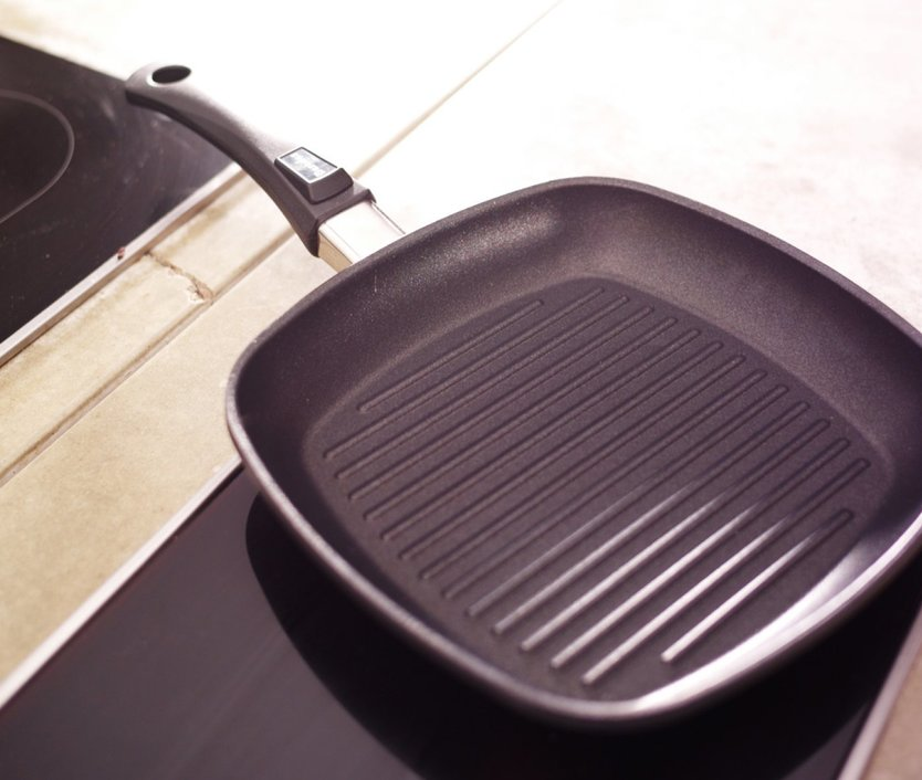 Berndes Vario Click Induction grill pan