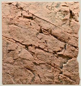 Back to Nature Slimline Red Gneiss back wall