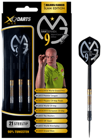 XQ Max Darts MvG Career Slam 90% Steel Tips