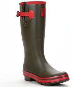 Evercreatures Army Surplus rain boots