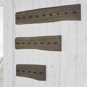 Zilt Acacia Hylle wall coat rack