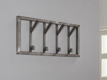 Zilt Industrial Four wall coat rack