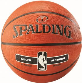 Basketball 5 Outd NBA Silver