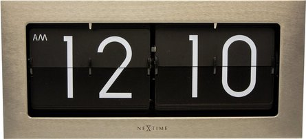 NeXtime Big Flip table clock