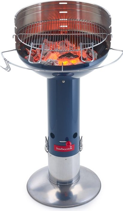 Barbecook Optima Midnight houtskookbarbecue