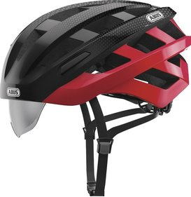 Abus In-Vizz Ascent helmet with visor
