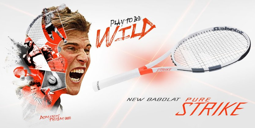 Babolat Pure Strike 16x19 tennisracket