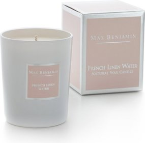 Max Benjamin Classic French Linen Water scented candle