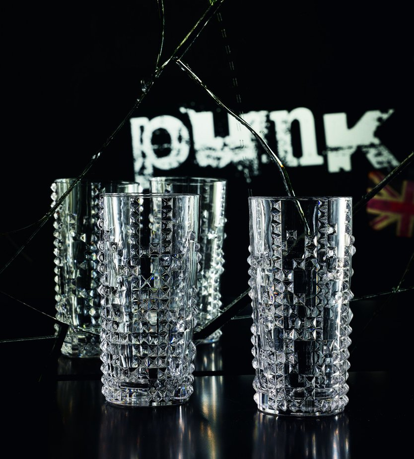 Nachtmann Punk long drink glass - conjunto de 4