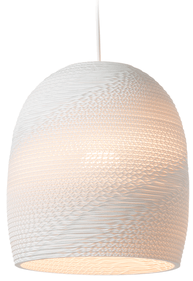 Graypants Bell 10 White hanglamp