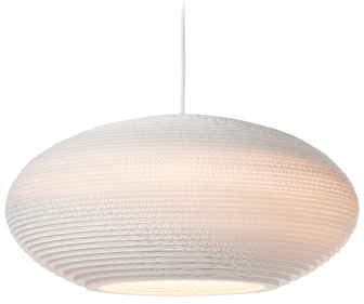 Graypants Disc 16 White hanglamp