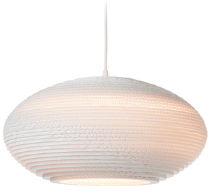 Graypants Disc 20 White hanglamp