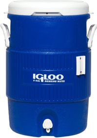 Igloo 5 Gallon Seat Top Beverage Dispenser Includes Cup Holder