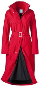 Happy Rainy Days Long Raincoat Rosa regenjas dames