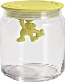 Alessi Gianni a little man holding on tight voorraadbus AMDR04