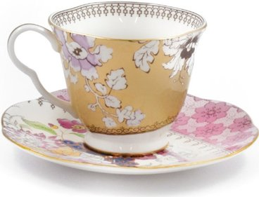 Wedgwood Butterfly Bloom theekop en schotel