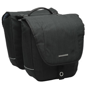 New Looxs Avero Double Racktime double bicycle bag black