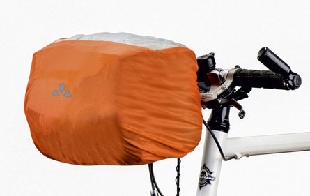Vaude handlebar bag orange