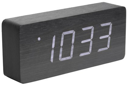 Karlsson Tube alarm clock