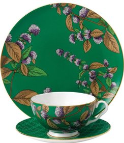 Wedgwood Tea Garden Green Tea & Mint 3-piece tea set