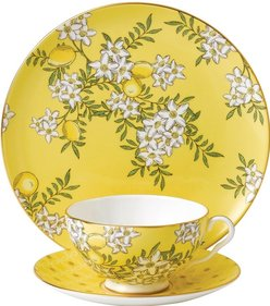 Wedgwood Tea Garden Lemon & Ginger 3-piece tea set
