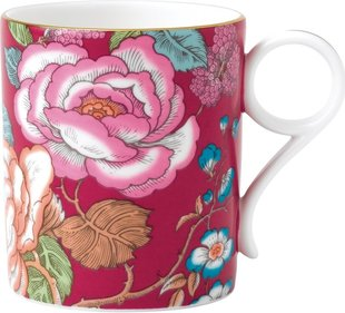 Wedgwood Tea Garden Raspberry beker