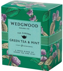 Wedgwood Tea Garden Green tea with mint tea 60 grams