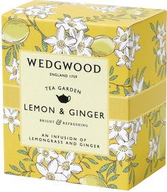 Wedgwood Tea Garden Lemon & Ginger tea 60 grams