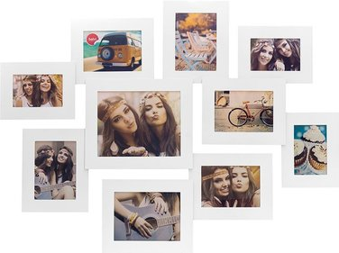 Balvi Air multi photo frame 10 photos