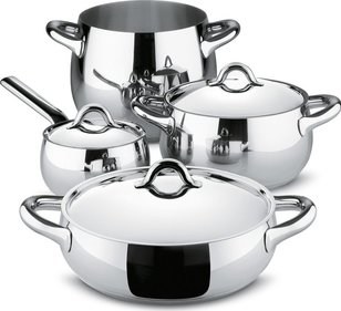 Alessi Mami pannenset 4-delig SG100S7