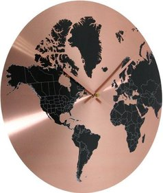 Invotis World wall clock