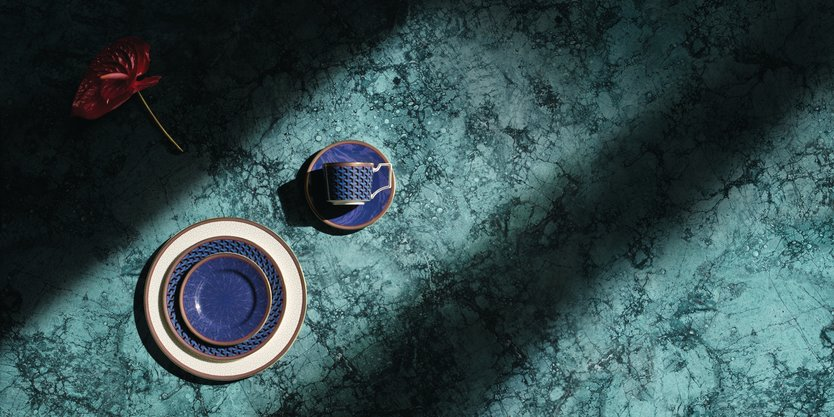 Wedgwood Byzance tea cup and saucer