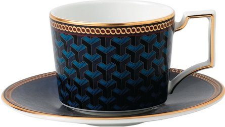 Wedgwood Byzance espresso cup and saucer
