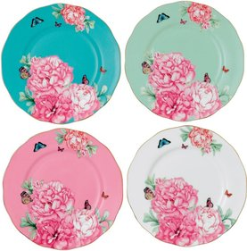 Royal Albert Miranda Kerr set of 4 plates