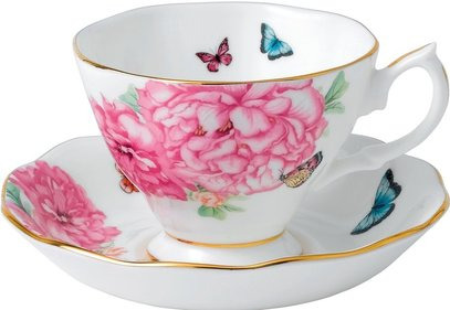Royal Albert Miranda Kerr tea cup and saucer